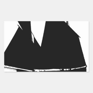 1885 Manx Nickey - tony fernandes Rectangular Sticker