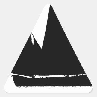 1885 Manx Nickey - tony fernandes Triangle Sticker