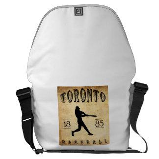1885 Toronto Ontario Canada Baseball Commuter Bag