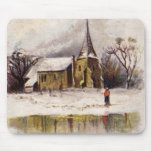 1886: A snowy Victorian winter scene