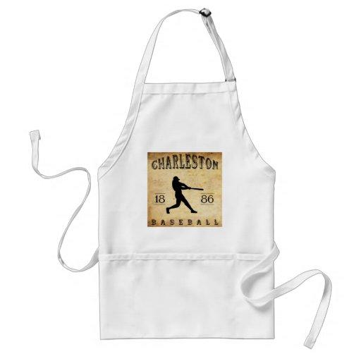 1886 Charleston South Carolina Baseball Aprons