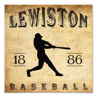 1886 Lewiston Pennsylvania Baseball Photo Print