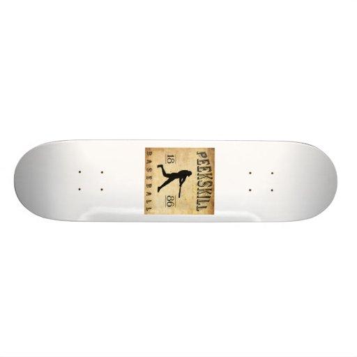 1886 Peekskill New York Baseball Custom Skate Board
