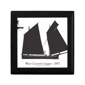 1887 west country lugger - tony fernandes gift box