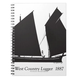 1887 west country lugger - tony fernandes notebooks