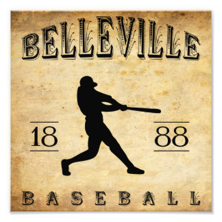 1888 Belleville New Jersey Baseball Photograph