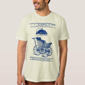 1888 Children's Carriage vintage ad (blue) T-Shirt
