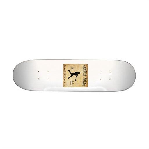 1888 Seneca Falls New York Baseball Skateboard Decks