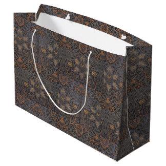 1888 Vintage William Morris Ispahan Large Gift Bag