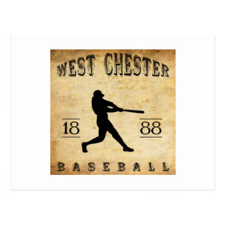 1888 West Chester Pennsylvania Baseball Postcard