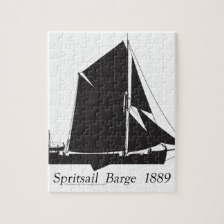1889 spritsail barge - tony fernandes jigsaw puzzle