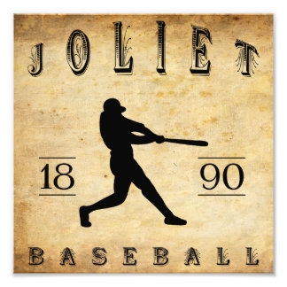 1890 Joliet Illinois Baseball Photo Art