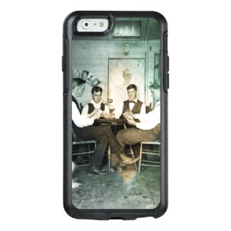 1890 Poker Game Men Gambling Cards Man Cave Photo OtterBox iPhone 6/6s Case