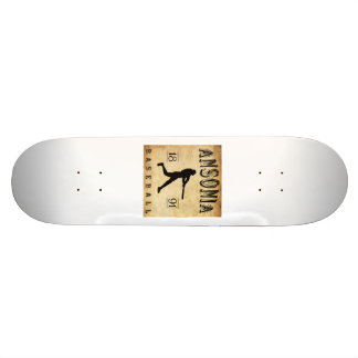 1891 Ansonia Connecticut Baseball Custom Skateboard