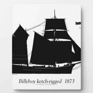 1891 Billyboy - tony fernandes Plaque