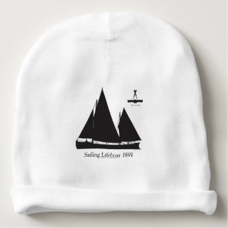 1891 sailing lifeboat - tony fernandes baby beanie