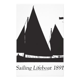 1891 sailing lifeboat - tony fernandes stationery