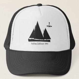 1891 sailing lifeboat - tony fernandes trucker hat