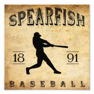 1891 Spearfish South Dakota Baseball Photo Art