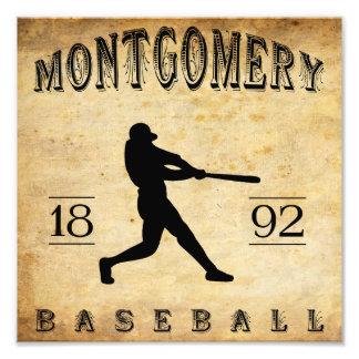 1892 Montgomery Alabama Baseball Photo Print