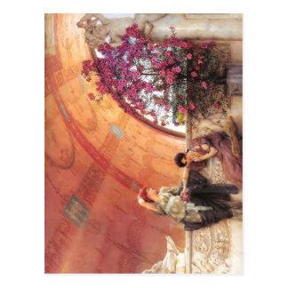 1893 Lawrence Alma-Tadema - Unconscious Rivals Alm Postcard