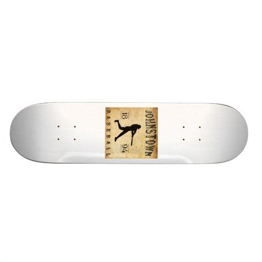 1894 Johnstown New York Baseball Skate Board