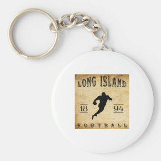 1894 Long Island New York Football Basic Round Button Key Ring