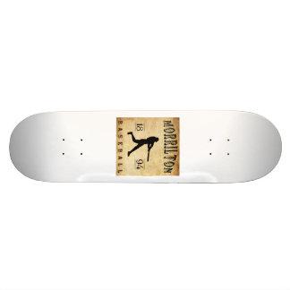 1894 Morrilton Arkansas Baseball Skate Board