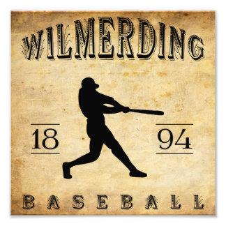 1894 Wilmerding Pennsylvania Baseball Photographic Print
