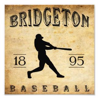 1895 Bridgeton New Jersey Baseball Photograph