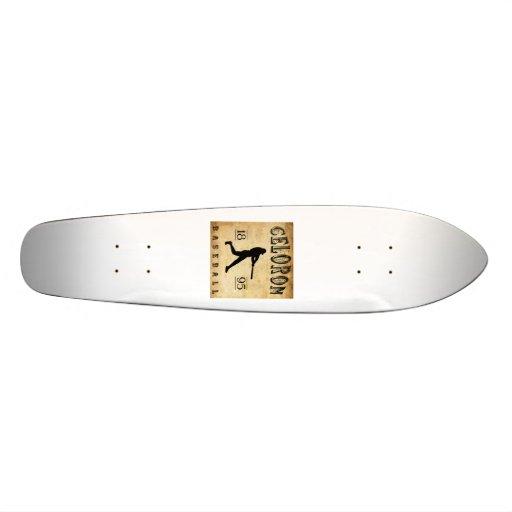 1895 Celoron New York Baseball Skateboard