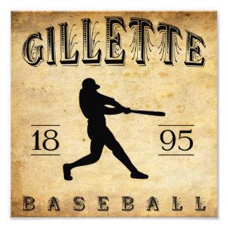 1895 Gillette Colorado Baseball Photograph