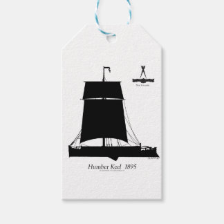 1895 Humber Keel - tony fernandes Gift Tags