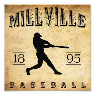1895 Millville New Jersey Baseball Photo