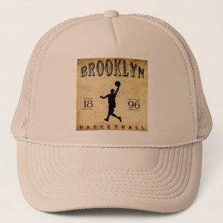 1896 Brooklyn New York Basketball Trucker Hat