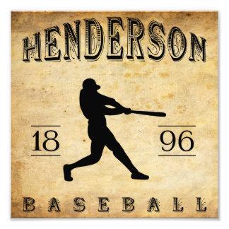 1896 Henderson Kentucky Baseball Photo Art