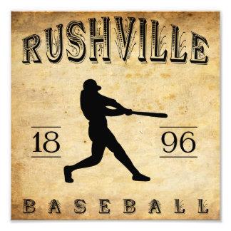 1896 Rushville Indiana Baseball Photo Print