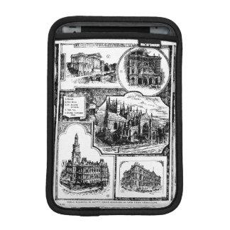 1896 Vintage Sydney Australia iPad Mini Sleeve