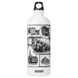 1896 Vintage Sydney Australia Water Bottle