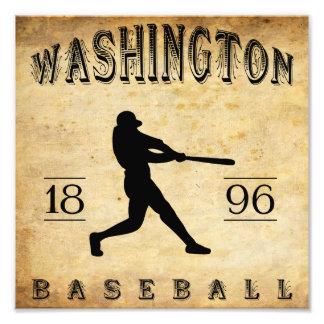 1896 Washington Indiana Baseball Photograph