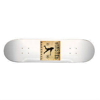 1896 Winsted Connecticut Baseball Skate Boards