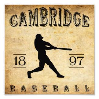 1897 Cambridge Ohio Baseball Photo Art