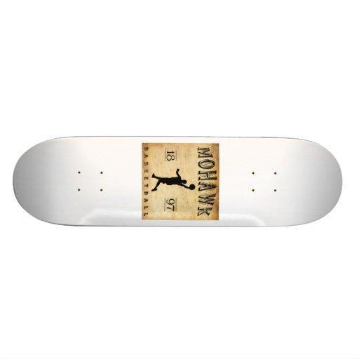 1897 Mohawk New York Basketball Skateboard Deck