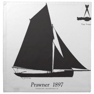 1897 Prawner - tony fernandes Napkin
