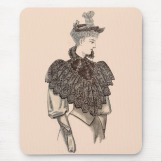 1897 Victorian woman Mouse Pad