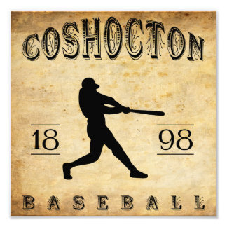 1898 Coshocton Ohio Baseball Photographic Print