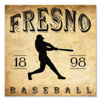1898 Fresno California Baseball Art Photo