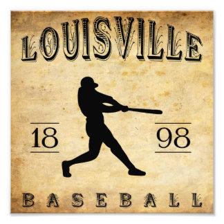 1898 Louisville Colorado Baseball Photo