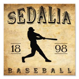 1898 Sedalia Missouri Baseball Photograph