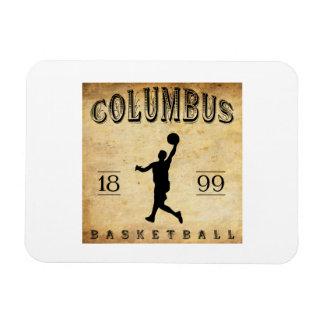 1899 Columbus Ohio Basketball Magnet